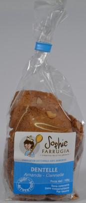 Biscuits de Calais Amandes cannelle
