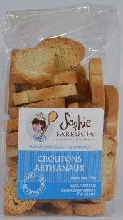 Croutons nature